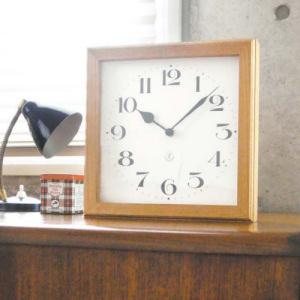 ギャラリークロック/スクエア(壁掛け・置き型共用時計)