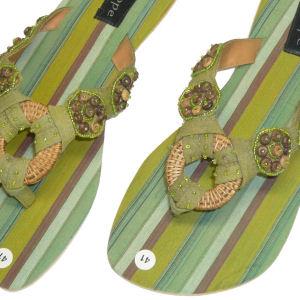 サンダル カラー:グリーン
